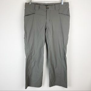 Arc'teryx Nylon Hiking Pants Light Grey Size 6